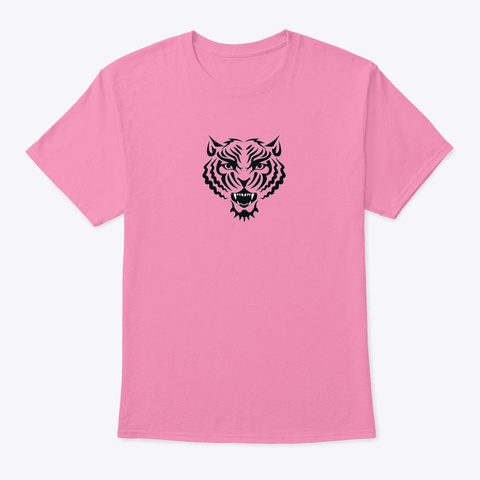 Tiger Pink T-Shirt Front
