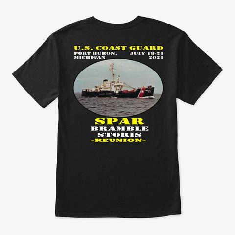 Spar (Wlb 403) T Shirt Black T-Shirt Back