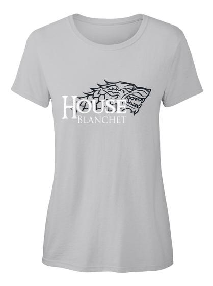 Blanchet Family House   Wolf Sport Grey Women's T-Shirt Front