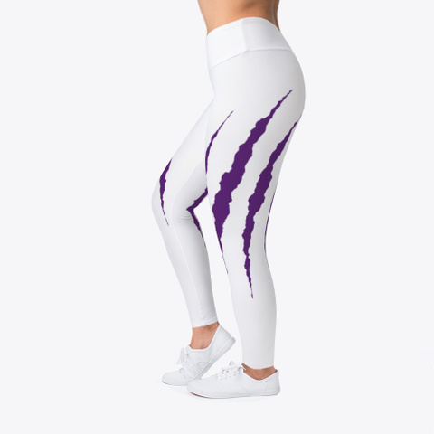 Tiger Claw Leggings Standard T-Shirt Left