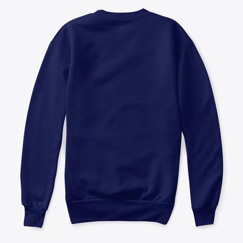 Aesthetic Definition Vaporwave Navy T-Shirt Back