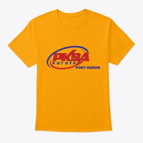 Pksa Port Huron T Shirt Gold T-Shirt Front