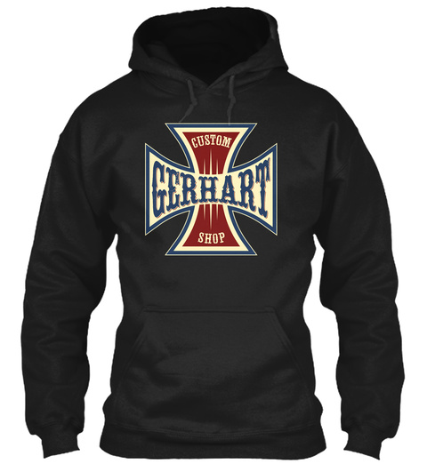 Gerhart Custom Shop Black T-Shirt Front