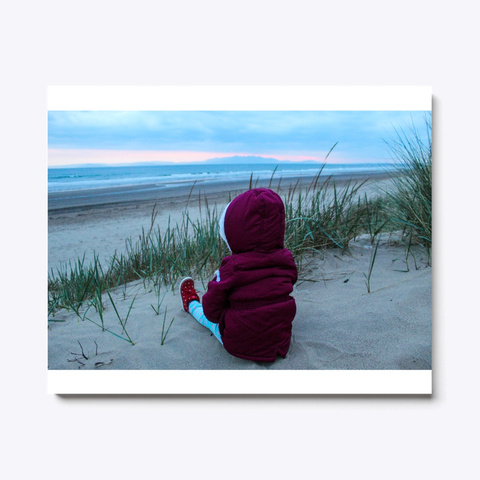Child At The Beach By Diane White T-Shirt Front
