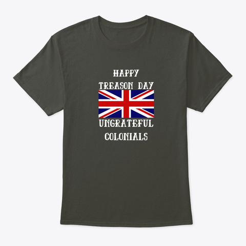 Independence Day | Funny 4th Of July Smoke Gray T-Shirt Front