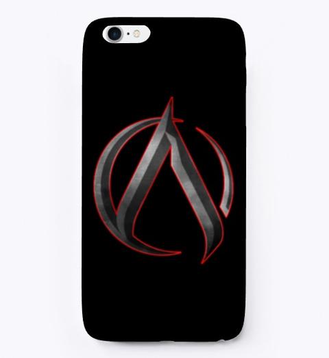 Ak 'archetype' I Phone Case Black T-Shirt Front