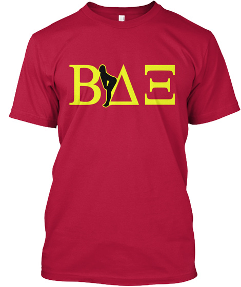 a514a3545 American Pie Beta House Inspired T Shirt Cherry Red T-Shirt Front