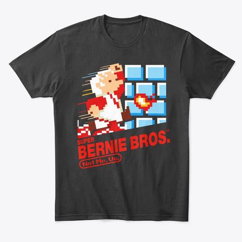 Super Bernie Bros. Black T-Shirt Front