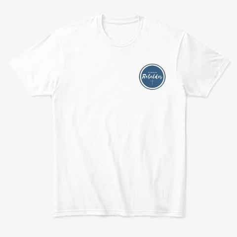 Camiseta Blanca Comfort Zone White T-Shirt Front