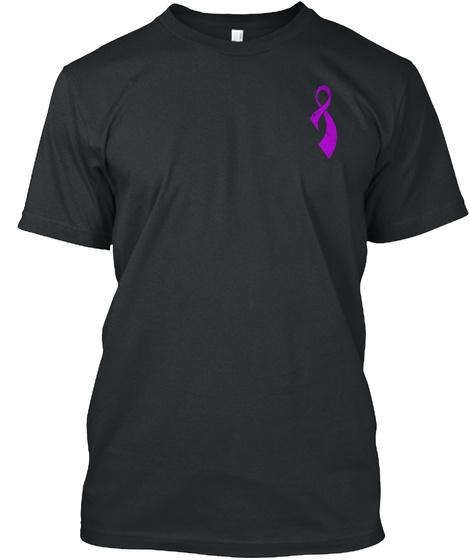 Pancreatic Cancer Awareness! Black T-Shirt Front