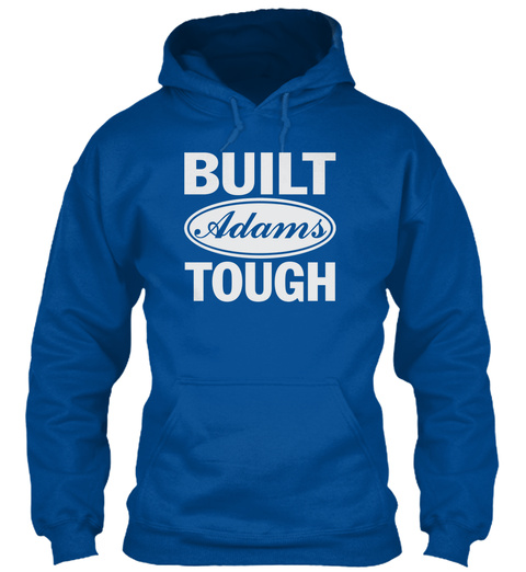 Built Adams Tough Royal Suéter Front