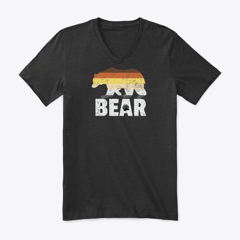 Bear Flag Gay Pride Lgbtq Party Gift Black T-Shirt Front