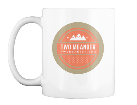 Two Meander Mug White Mug Front