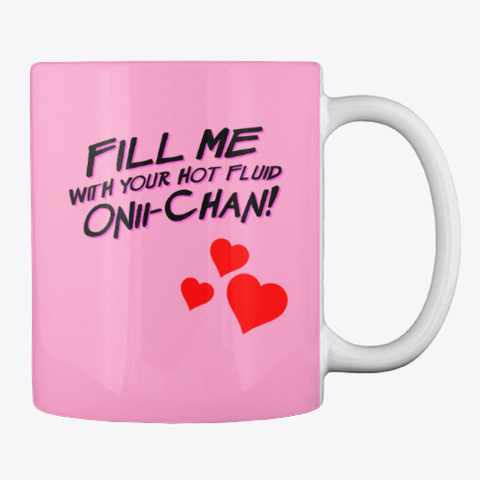 Ahegao Mug! Pink Camo Camiseta Back