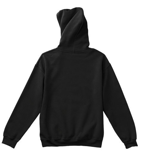 Barz Rus   Real Hitta Kids Hoodies Black T-Shirt Back