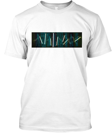 Thi N Xx Apparel Collection: April 2017 White T-Shirt Front
