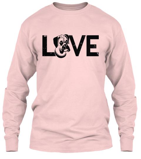 Love Light Pink T-Shirt Front