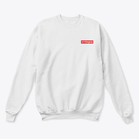 Gotension Seoul White  T-Shirt Front