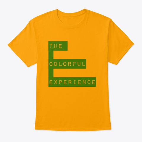 Tee Shirt  Tce  Gold T-Shirt Front