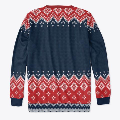 Naughty Santa Exclusive Standard T-Shirt Back
