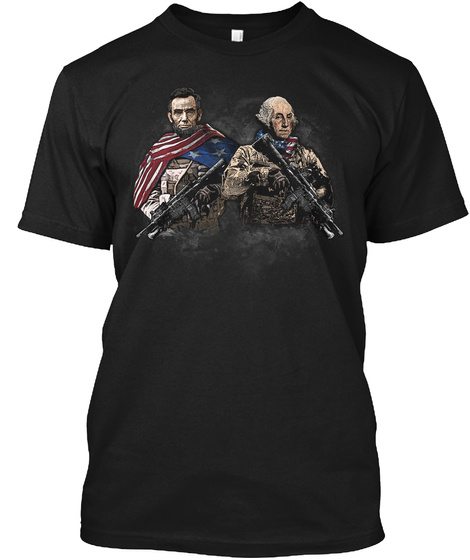 Presidential Soldiers Black T-Shirt Front