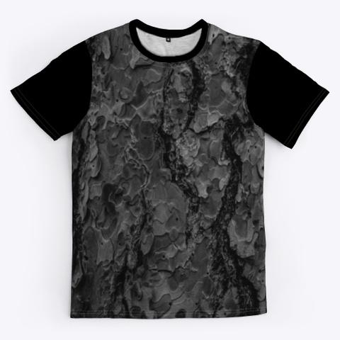 T Shirt: Rocks Black T-Shirt Front