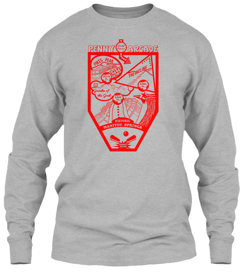 Manitou springs 2017 pinball products teespring for T shirt printing in colorado springs