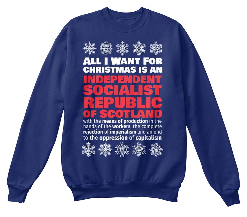 d'Ecosse standard socialiste sweat que ce République indépendante veux je unisexe Tout shirt PUwwxp