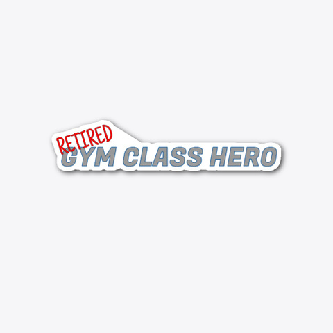 Gym Class Hero Standard T-Shirt Front