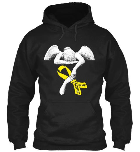 Hope Cure Black Sweatshirt Front