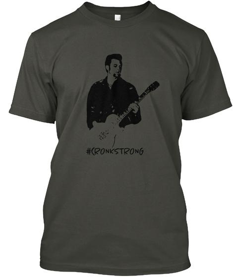 :(Ronkstrong Smoke Gray T-Shirt Front
