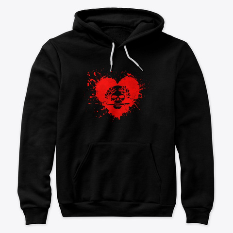 Cuore Ardito Black T-Shirt Front