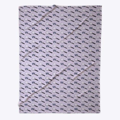Websleuths Logo Fleece Blanket Light Purple T-Shirt Front