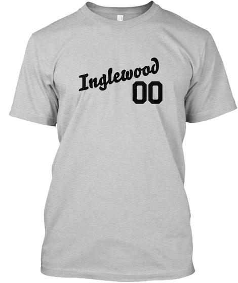 Inglewood Varsity Legend Light Steel T-Shirt Front
