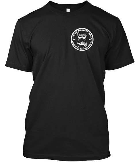 Freight Dogs Anonymous Ootsk Order Of The Sleepless Knights Black T-Shirt Front