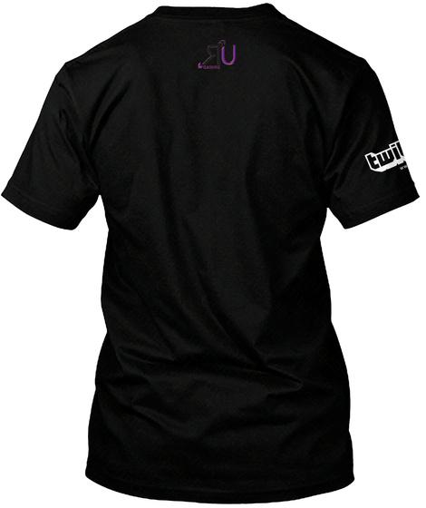 Slurpiii Black T-Shirt Back