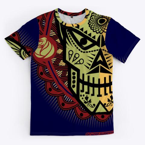 Skulz Dark Navy T-Shirt Front