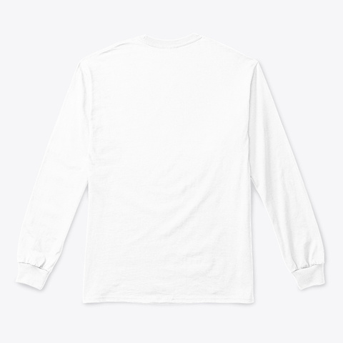 Catch Flights Not Feelings White T-Shirt Back