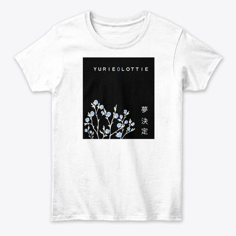 Le Logo D'un Follower   Yurie0 Luttie White T-Shirt Front