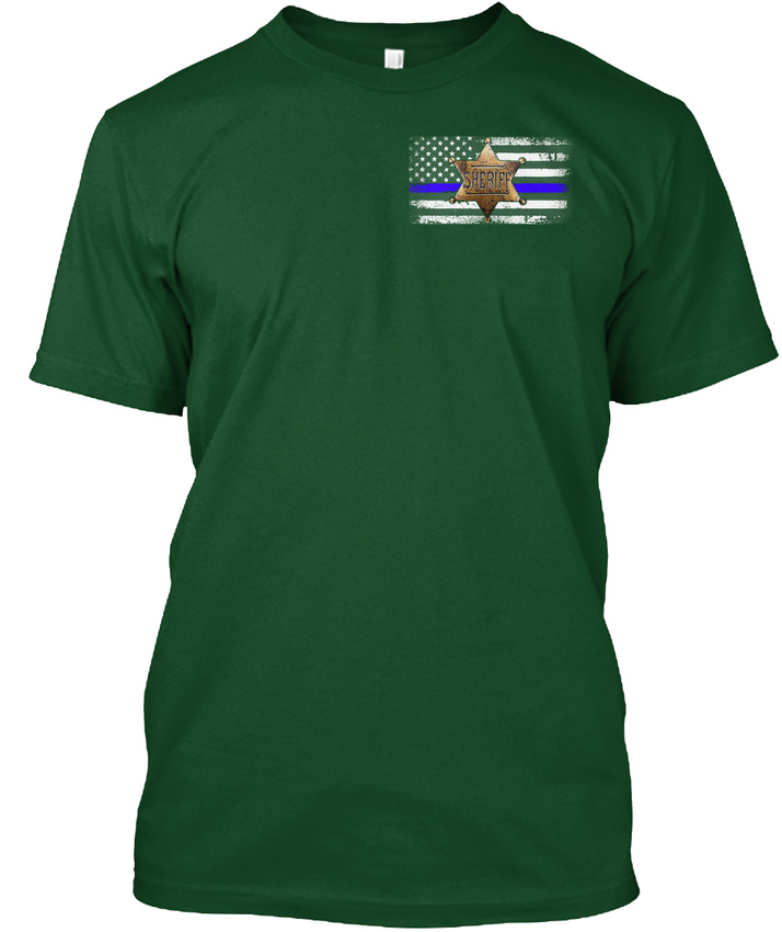 Custom-made-Sheriff-Flag-Hanes-Tagless-Tee-T-Shirt-Hanes-Tagless-Tee-T-Shirt thumbnail 8