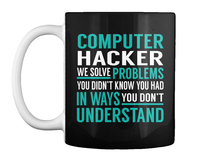 Cybersecurity Analyst Solve Problems Gift Coffee Mug