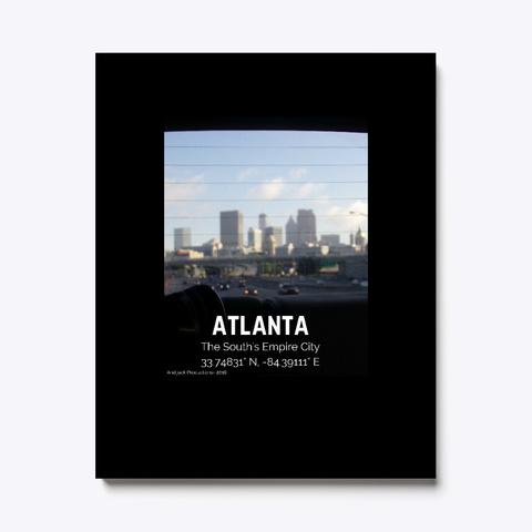 Atlanta Black T-Shirt Front