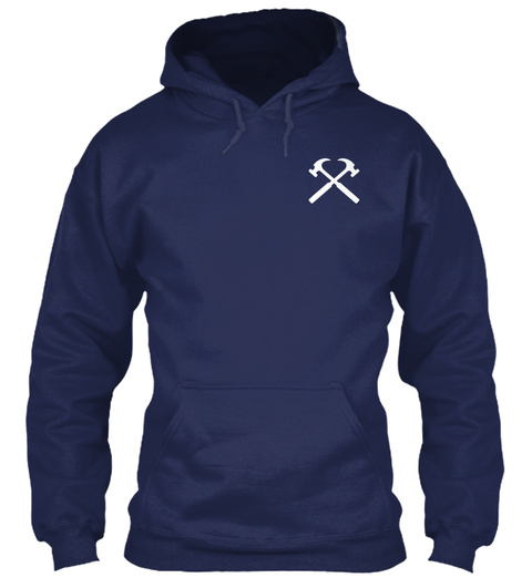 Roofer Limited Edition Navy T-Shirt Front