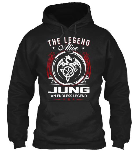 The Legend Alive Jung An Endless Legend Black T-Shirt Front