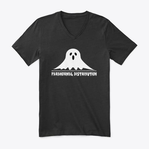 Paranormal Distribution Black T-Shirt Front