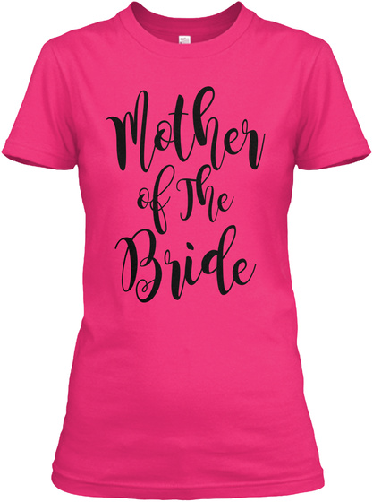 Mother Of The Bride Heliconia T-Shirt Front