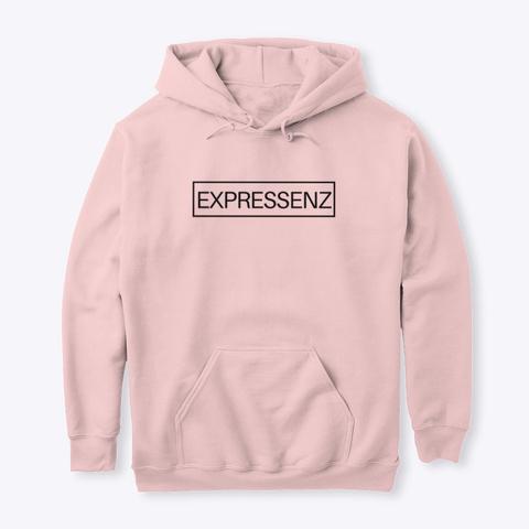 Expressenz Hoodie Light Pink T-Shirt Front