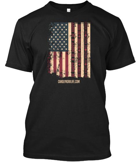 Carolynsavlife Com Black Camiseta Front