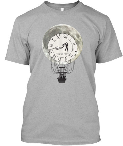 Tempus Fugit Athletic Heather T-Shirt Front