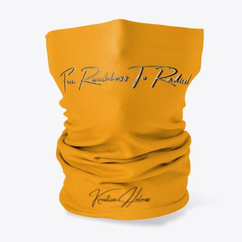 Reckless To Radical Orange T-Shirt Front